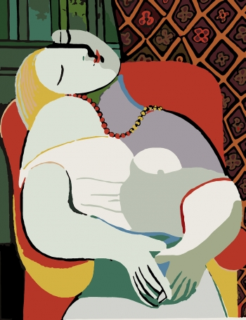 Картина по номерам Пабло Пикассо - Мечта